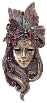 Decorative Venetian Wall Masks Butterfly Venetian STYLE Mystique Mask Plaque Wall decor 43