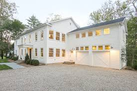 farmhouse ture exterior with white roof overhang themed spectacular what color garage door with grey house
