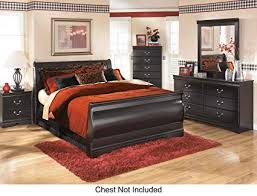 Image Coaster Image Unavailable Amazoncom Amazoncom Huey Vineyard Queen Bedroom Set With Sleigh Bed Dresser
