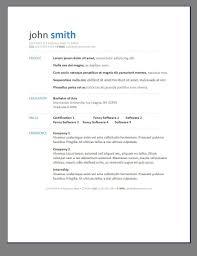 Resume Template Modern Professional Modern Professional Resume Template Free Format Templates For Mac 10