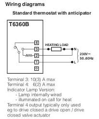 replacing honeywell t6360b thermostat horstmann asr zw the earth terminal has an earth connection