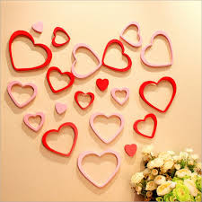 19 stunning heart shaped diy wall decor for valentines days diy  on wall art heart designs with unique metal heart wall decor photo wall art collections