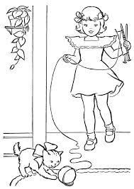 Disegni Di Gatti Da Colorare E Stampare Gratis Bambina