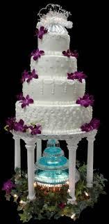 Pin By Gina Coglaiti On Takes The Cake Fountain Wedding Cakes