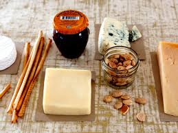 how to make a gift basket of cheese nuts and ers