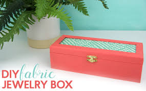 wooden jewelry box americana multi surface paint in shrimp paintbrush fabric s dap multi purpose glue