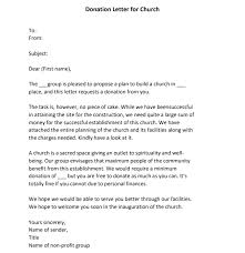 best donation request letter sles