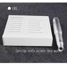cartridge tattoo needles 10pcs 1 liner cartridge permanent makeup micropigmentation machine cartridge eyebrow tattoo needle