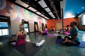 the yoga factory dallas with heating panels