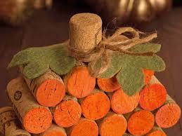 wine cork pumpkin