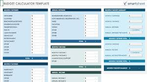 034 Free Personal Monthly Budget Excel Template Ideas Easy