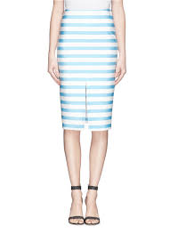 dress for success essay kate hudson admits she sometimes feels  lena dunham recalls her awkward high school years in poignant tanya taylor bundy stripe neoprene skirt