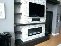 wall units fireplace