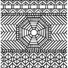 Small Picture Hard Mosaic Coloring Pages Coloring Pages