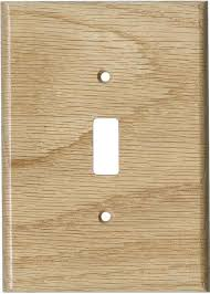1 oak red unfinished wall plate cover vendor widest selection in stock immediate free 5 000 reviews