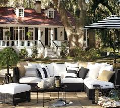 Black White Stripes Superb Cheap Patio Furniture With Black And