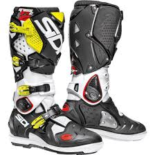 Sidi Crossfire 3 Size Chart Sidi Crossfire 2 Srs White Black Yellow Fluo Boots