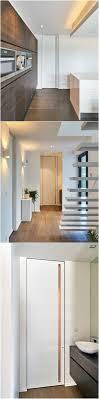 modern interior door handles. Modern Interior Doors With Invisible Door Frames. Custom-made From Floor To Ceiling A Built-in Vertical Handle. Handles T