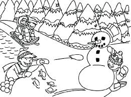Paul Klee Coloring Pages Good Free Winter Coloring Pages For Kids