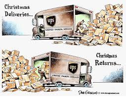 Christmas gift returns
