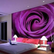 romantic bedroom purple. Wholesale 3d Mural Purple Rose Sofa Romantic Bedroom 8D Wall Papel De Parede Flower M