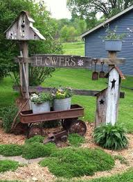 garden decor ideas.  Decor 20 Country Garden Decoration Ideas In Decor U