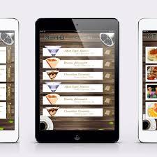 restaurant menu design app ipad app restaurant menu app design portfolio