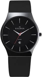17 best images about trending watches for men men s skagen watch skagen black mens watch