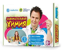 <b>Intellectico Набор</b> для опытов и <b>экспериментов</b> Занимательная ...