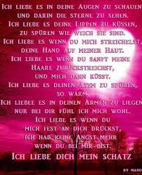 Liebes Spruch By Bärbel Für Meinen Schatz Sprüche Schatz Sprüche