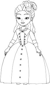 Sofia The First Coloring Pages: Princess Clio - Sofia the First ...