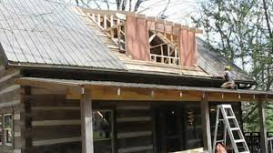 mountain cabin renovation vlog 12 dormer framing and stair building you