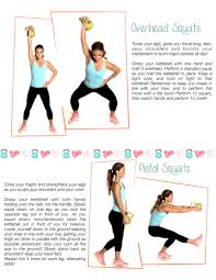 Printable Kettlebell Workout Chart Your Weekly Schedule Toneitup Com