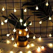 Usb Powered Outdoor Lights Us 1 74 30 Off Thrisdar Dc5v Usb Powered Globe Ball Fairy Led String Light 3m 6m Battery Powered Outdoor Christmas Party Fairy Light Garland In Led