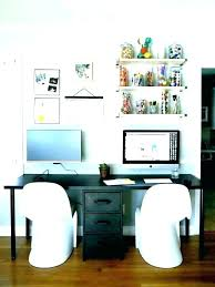 home office two desks. Interesting Home Exotic Two Person Desk Home Office Furniture   Intended Home Office Two Desks