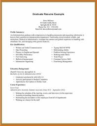 College Graduate Resume Samples Inspirational Job Resume Examples No Experience 60 Sample College in 60
