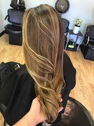 Brunette Light Brown And Blonde Highlights
