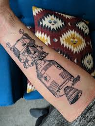 Apollo 11 By Toma Pegaz At Tattoo Landscape Paris France Tattoos
