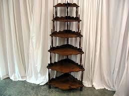 Corner Etagere Shelves vintage conor shevels Nice Mahogany Antique 100 Shelf Corner 2