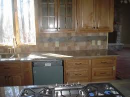 Kitchen Tile Idea Kitchen Tile Ideas 7 Onyx Subway Backsplash Tile Idea Image Of