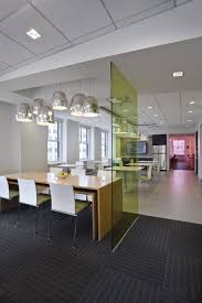 colorful office space interior design. Pressed Glass Partitions From 3Form Add Color And Creativity To The Modern Interior Colorful Office Space Design I
