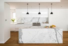 modern kitchen marble backsplash. Contemporary Modern White Marble Kitchen Idea And Modern Backsplash