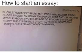 how start an essay aware army gq how start an essay