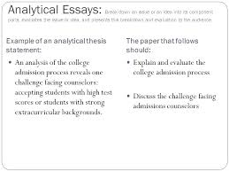 Example Of A College Essay College Essay Personal Statement Examples How To Write An Essay
