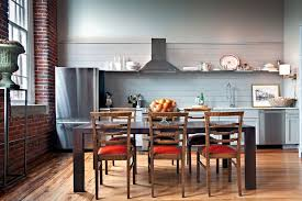 One Wall Kitchen Designs With An Island Plans Impressive Inspiration Design
