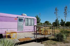 Retro Mobile Homes Experience The Good Old Days Of Off Grid Living At The El Cosmico