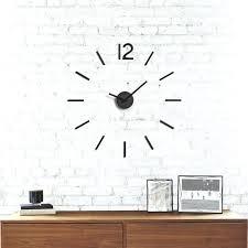 blink og wall clock umbra silver
