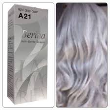 Light Grey Dye Details About Berina A21 Light Grey Silver Color Permanent