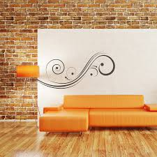 Small Picture Abstract Swirl Wall Decal Removable Wall Stickers and Wall Decals