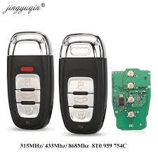 <b>jingyuqin Smart Remote</b> Key Keyless 3/4 Button 315MHz/433MHZ ...